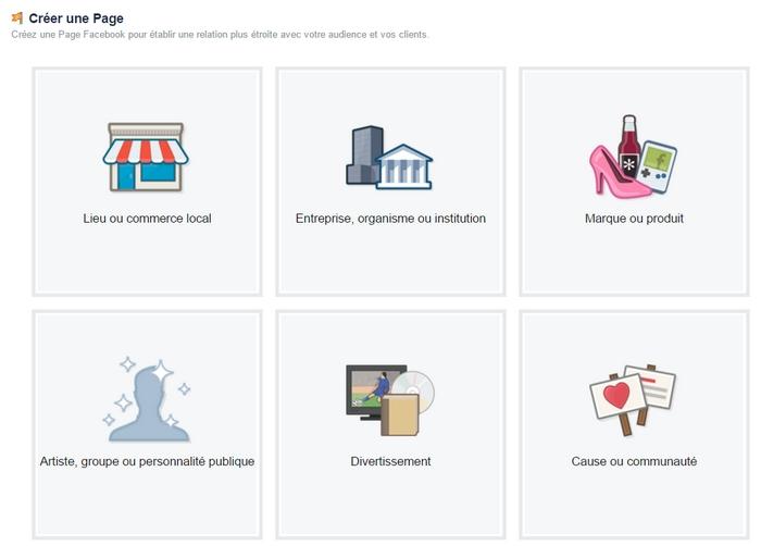 Comment cr er une page facebook pour une entreprise for Creer une entreprise qui rapporte